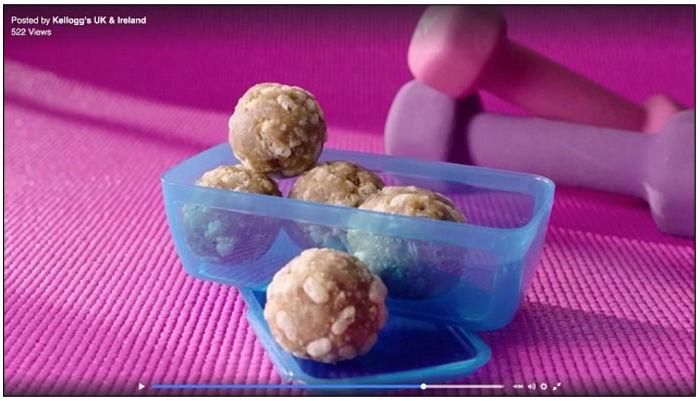 Des boules de beurre de cacahuètes aux Rice Krispies pour les séances de fitness