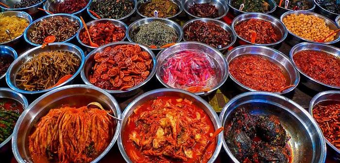 187 type de kimchi