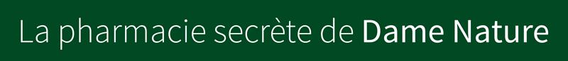 logo La pharmacie secrète de Dame Nature